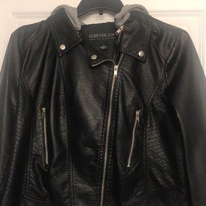 Forever 21+ Leather Jacket - PLUS SIZE